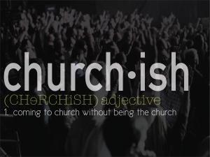 Churchish Title Slide